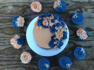 blue birthday cake glen waverley