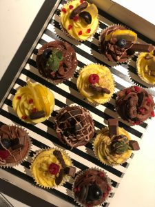 choclemon cupcake